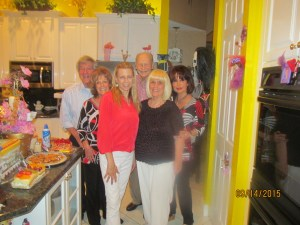 Richard, Karen Burke, Margi Helschein, Bob, Me and my friend, Wendy
