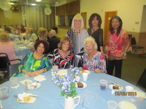 Connie Hainline, Karen Burke , Johann Leigh, Charlotte Beasley, Wendy Bau, and Remy Mc Clendon