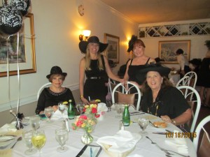 Sandi Solomon, Karen Turk, Betsy Wickard and Dr. Phyllis Perkins
