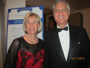 Former Boca Raton Mayors, Susan Whelchel and Steve Abrams