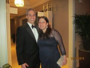 Boca Council Member Scott Singer and wife Bella