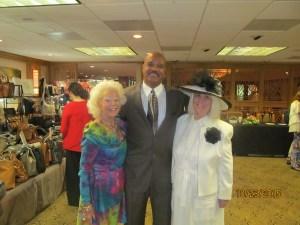 Johann Leigh, Dr. Randall Brooks and Charlotte Beasley
