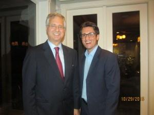 Former Boca Mayor, Steven Abrams and Dan Mangru