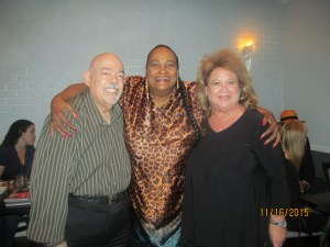Barry Epstein, Khalilah  Ali and Joanne Epstein