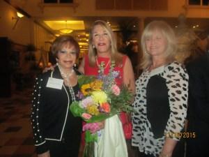 Sandi Solomon, Helene Weicholz and Dona Weinraub