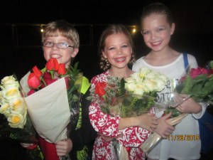 Some of the young dancers of the show