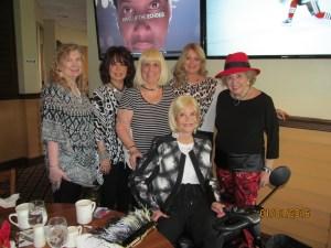 Evalyn David, Wendy Baum, Charlotte Beasley, Patricia, Marleen Forkas and Mondessa Swift