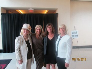 Charlotte Beasley, Mercedes Mottek, Nadine and Bernice Larkin