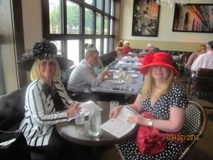 Charlotte Beasley and Evalyn David at Grato