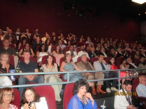 A sold out ctowd opening nite