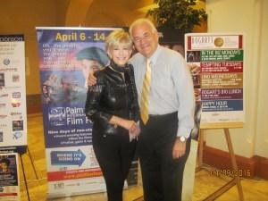 PBFF Pres., Jeff Davis and Rhonda Small