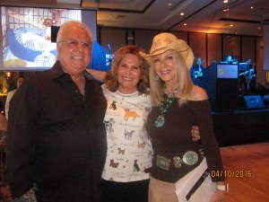 Jay DiPietro, Marta Batmasian and Sharon DiPietro
