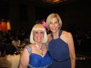 Charlotte Beasley and West Palm Beach Mayor Jeri Muoio