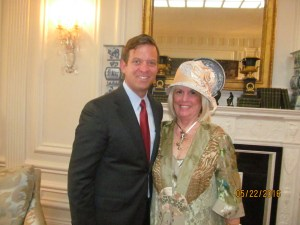 Lt. Gov. Carlos Cantera and Charlotte Beasley