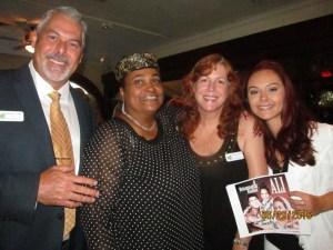 Khalilah Ali with Michael,  Nicole and Mykala Tinsley