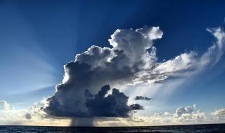 Happy Sunday Boca Raton - Early Morning Rain at Sea - Photo Courtesy Rick Alovis