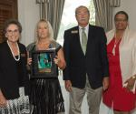 Able Trust President & CEO Dr. Susanne Homant (left), Vice Chairman Richard L. Cole, Jr. and Board member Arlene Shackelford (far right) present Boca Raton Resort and Club (represented by Nancy Watson) with the Employer of the Year Award.