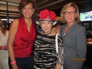 Carole Bouchard, Marleen Forkas and Vicki Rixon