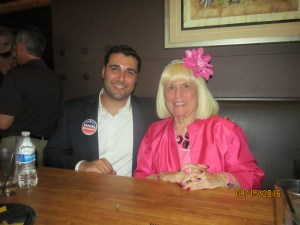 Taniel Shant, Candidate for County Commisioner and Chalotte Beasley
