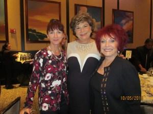 Jane Tyree, Arlene Herson and Shari Upbin