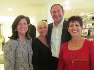 Mayor Susan Haynie, Constance Scott, and Jan Savarick