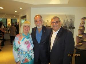 Charlotte Beasley, Yaacov Heller and Douglas Heizer