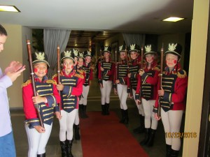 Nutcracker Soldiers at the Entrance