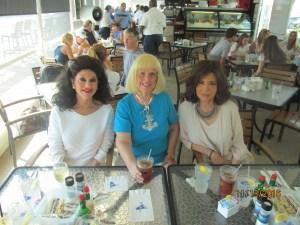 Christine Lynn, Charlotte Beasley and Wendy Baum