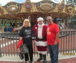 Charlotte Beasley, Santa Claus and Doug Heizer