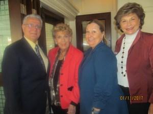 Al Zucaro, Yvonne Boice Zucaro, Mary McCarthy and Arlene Herson