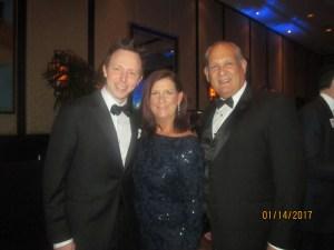 Jeremy Rogers, Mayor Susan Haynie and Bob Weinroth