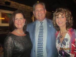 Mayor Susan Haynie, Bob and Pam Weinroth