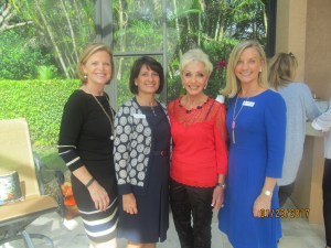 Cindy Krebsbach, Helen Ballerano, Marilyn Swillinger and Karen Sweetapple