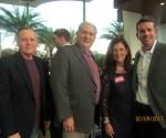 Val Chiasson, Bob Weinroth, Mayor Haynie and Jonathan Whitney