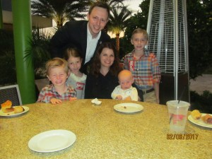 City Councilman, Jeremy and Mandy Rodgers and children