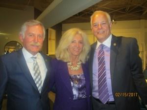 Rick Howard, Maria Sachs and Jon Kaye
