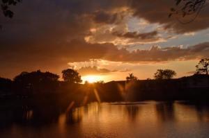 Another Beautiful Boca Sunset - Photo Courtesy Rick Alovis
