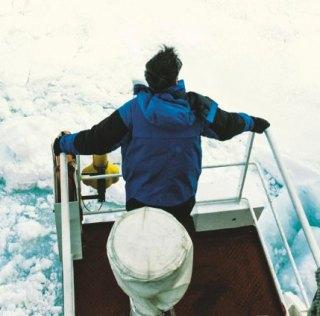 Emmanuel et François Lepage, aventuriers en Antarctique