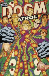 Samplerman - Couvertue alterntive du Doom Patrol 6 - DC Comics - avril 2017