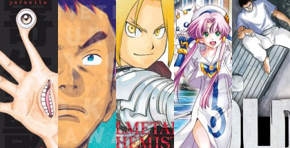 TOP Reedition Manga 2020 Une