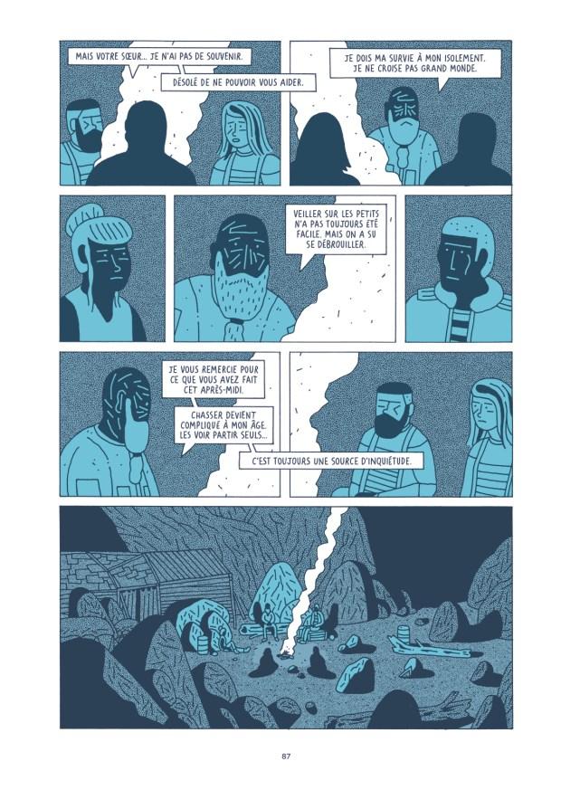 Le long des ruines Planche