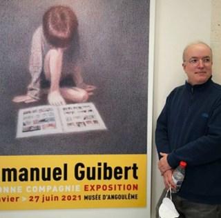 En compagnie d'Emmanuel Guibert, à Angoulême