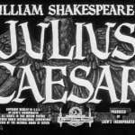 Julius Cesar mgm poster