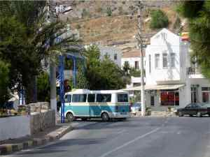 Gundogan Dolmus Station, Bodrum Peninsula Turkey