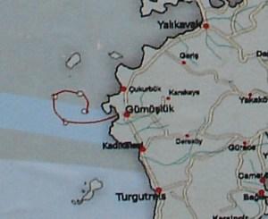 Gumusluk Boat Trip