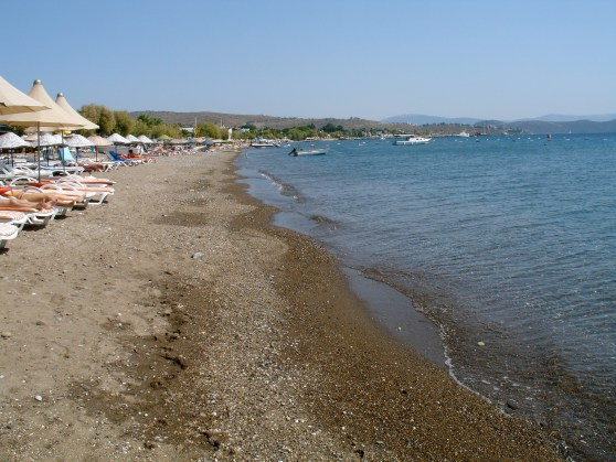 Ortakent Beach Bodrum Peninsula Turkey