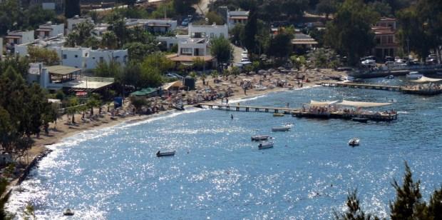 Kucukbuk Bay near Gundogan Bodrum Turkey