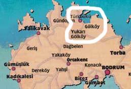 Gol-Turkbuku, Bodrum Turkey