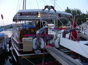 Day Boat trips from Yalikavak Turkey