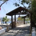 Bridge in Turkbuku Bay, Turkey